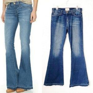 Current/Elliot Island Hopper Released Hem Jeans 28